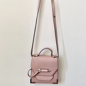 Mackage Pink Rubie Crossbody Leather Bag